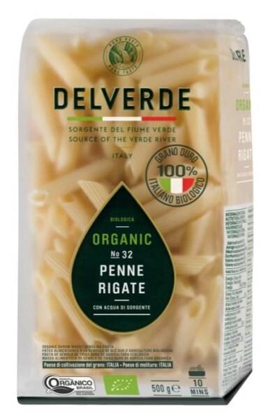 LOGO_Organic Penne DELVERDE