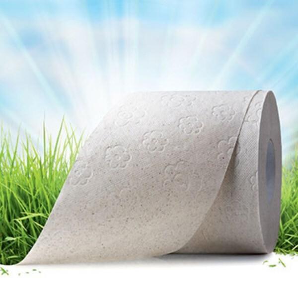 LOGO_hygienic paper with grass fibre