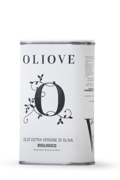 LOGO_Oliove organic extra virgin olive oil in 0,5 LT can