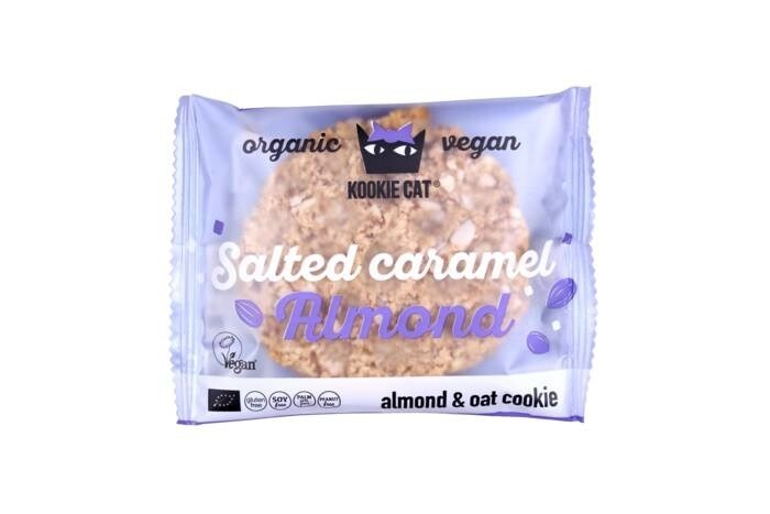 LOGO_Almond and oat cookie with Salted Caramel Almond