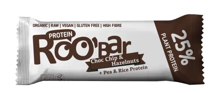 LOGO_Proteinriegel mit Schokostückchen und Haselnüssen