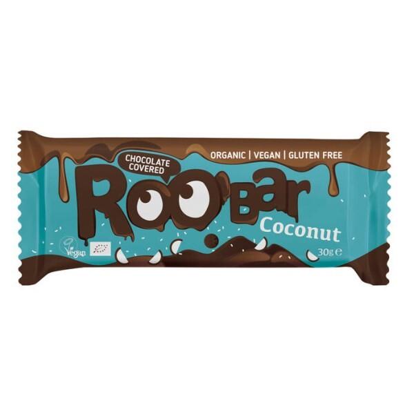 LOGO_Kokosriegel, umhüllt mit Schokolade