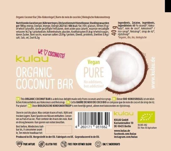 LOGO_KULAU Organic Coconut Bar