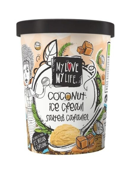 LOGO_MyLove-MyLife Organic Coconut Ice cream Salted Caramel