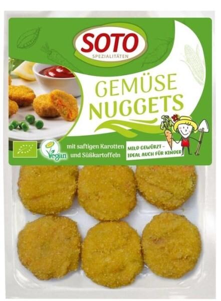 LOGO_Gemüse Nuggets - mit saftigen Karotten und Süßkartoffeln