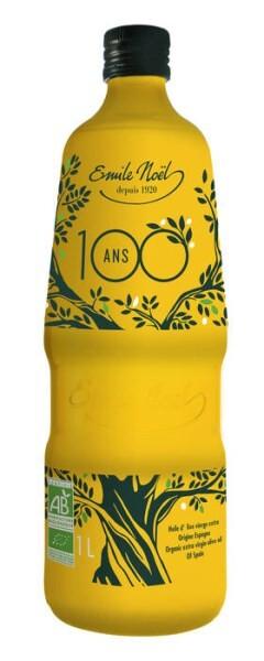 LOGO_Bio Olivenöl extra vergine - 100 Jahre