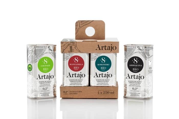 LOGO_Pack 4 Sorten Artajo 8 4x250 ml