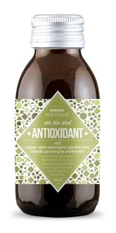 LOGO_Organic Human 100ml Shot Antioxidant