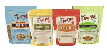 LOGO_Bob's Red Mill Wholegrain Organic & Gluten-free Flours, Cereals & Baking Mixes