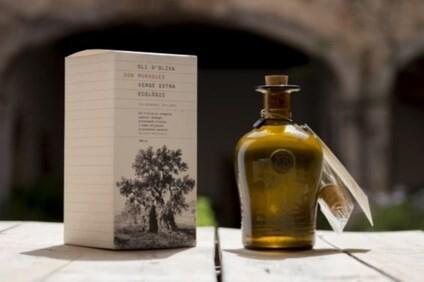 LOGO_SON MORAGUES EXTRA VIRGIN ORGANIC OLIVE OIL  (500ml handmade amber glass bottle)