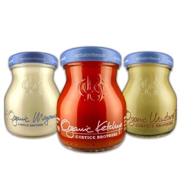 "LOGO_""Organic Tomato Ketchup Organic Chilli Ketchup  Organic Mayonnaise Organic Mustard Vegetable Spread """