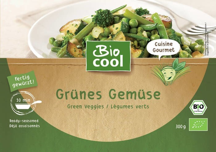 """LOGO_""""Green Veggies as a side dish or for veggie-bowls"""""""