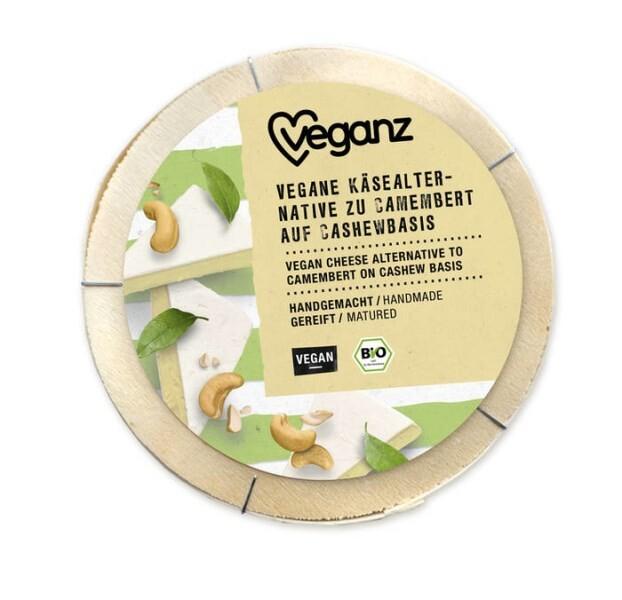 LOGO_BIO Vegane Käse-Alternative zu Camembert