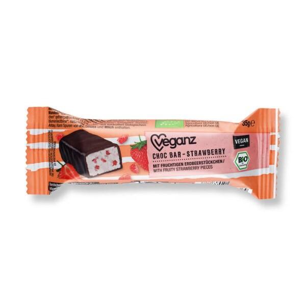 LOGO_BIO Veganz Choc Bar Strawberry