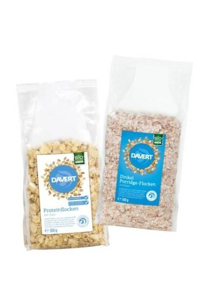 LOGO_DAVERT Spelt Porridge Flakes & Protein Flakes