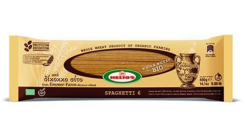 LOGO_Helios Emmer - Farro diccocum whole wheat organic Spaghetti