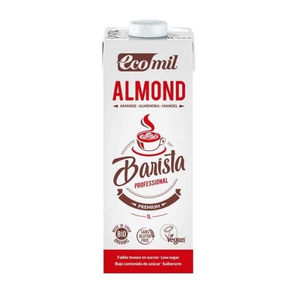 "LOGO_""Ecomil  Almond low sugars Barista drink 1L Ecomil Oat no added sugars Barista drink 1L"""