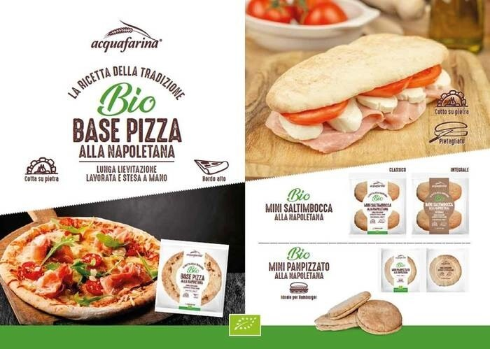LOGO_Pizza Crust Whole Wheat Mini Saltimbocca Italian Pizza Bread  Mini Panpizzato Italian Pizza Bread Round Shape