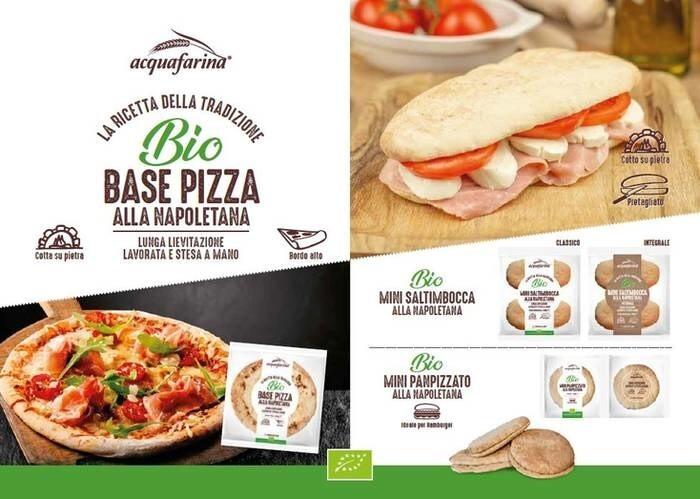 LOGO_Pizza Crust Whole Wheat Mini Saltimbocca Italian Pizza Bread  Mini Panpizzato Italian Pizza Bread Round Shape