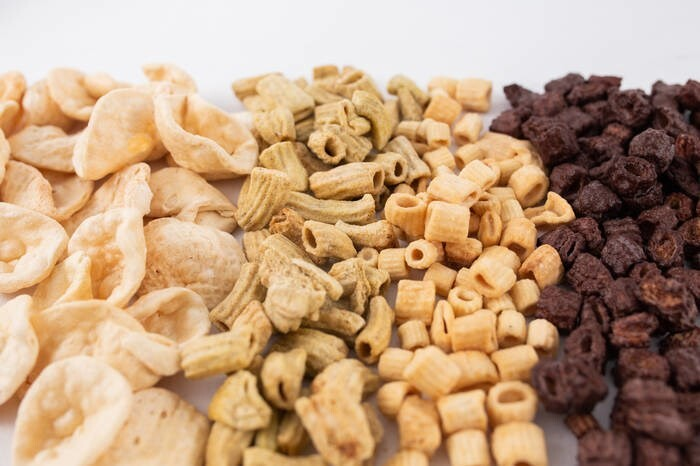 LOGO_PASTATINA - Organic puffed pasta snack