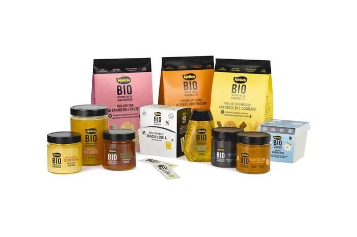 LOGO_Bio-Honig aus Italien Bio-Früchte Extra Konfitüre Bio-Eis  Bio-Shortbreadgebäck