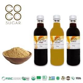 LOGO_Bio-Kokoszuckerpulver, Bio-Kokosnektarsirup, Bio-Kokos-Aminos