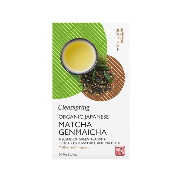 LOGO_Clearspring Organic Japanese Matcha Genmaicha Tea