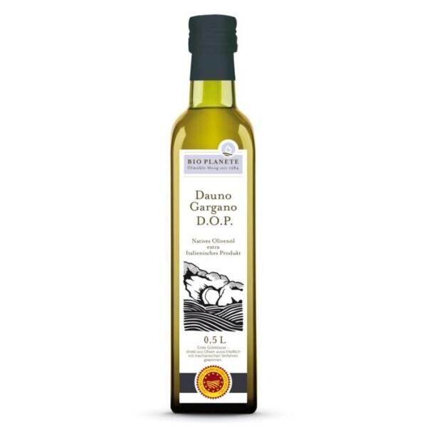 LOGO_BIO PLANÈTE Olivenöl nativ extra Dauno Gargano D.O.P.