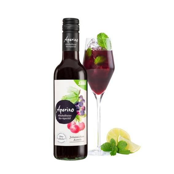 LOGO_Aperino® alkoholfreier Bio-Aperitif Johannisbeere Acerola