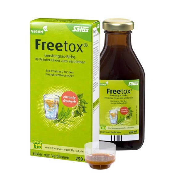 LOGO_Freetox® Barley grass-birch 10-herbal-elixir, plus vitamin c for the energy budget and metabolism