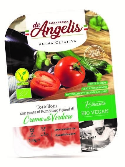 LOGO_Fresh organic vegan tortelloni filled with creamy vegetables