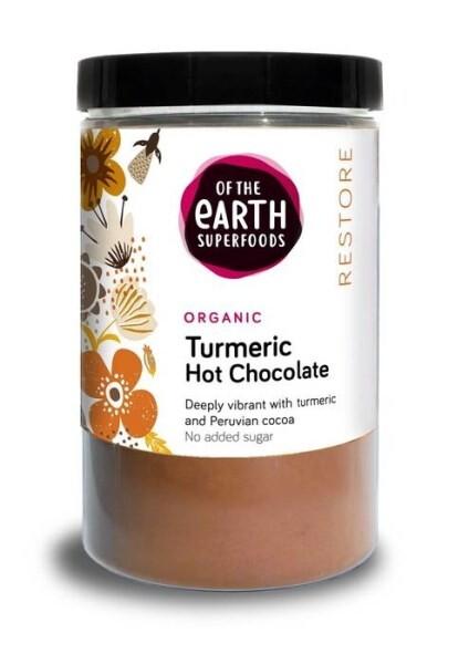 LOGO_Of the Earth Superfoods Organic Turmeric Hot Chocolate