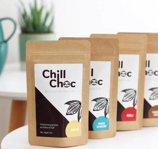 LOGO_ChillChoc - Der erste Anti-Stress-Kakao mit Hanf (natürliches CBD)