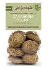 LOGO_Organic vegan spelt cookies with carrot, yuzu and granola