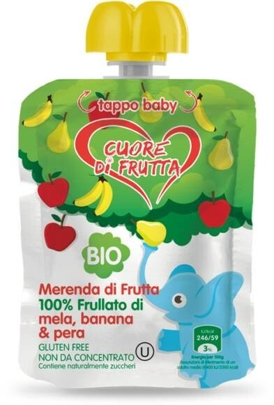 LOGO_Cuore di Frutta - Apple Banana & Pear