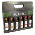 LOGO_Assortment of organic extra virgin olive oils, gift box