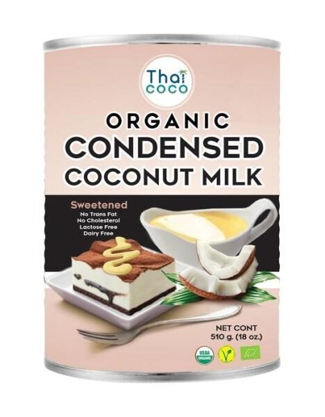LOGO_THAICOCO Organic Condensed Coconut Milk