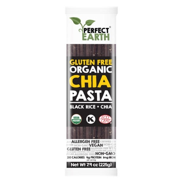 LOGO_Perfect Earth Organic Black Rice Pasta with Chia Seeds