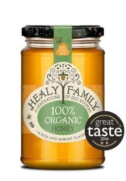 LOGO_100% Organic Honey