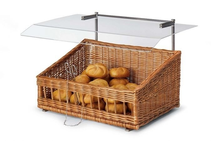 LOGO_Shelf and counterbasket with hygienic accessories