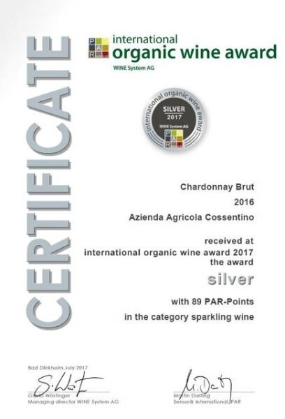 LOGO_Sparkling organic wine from Chardonnay grapes