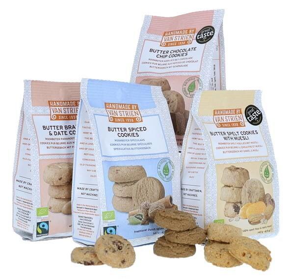 """LOGO_""""Handmade by van Strien"""" sweet cookies 140 gr"""