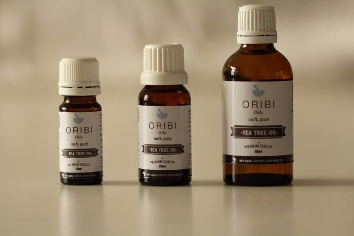 LOGO_Rose Geranium, Rosemary, Tea Tree Oil