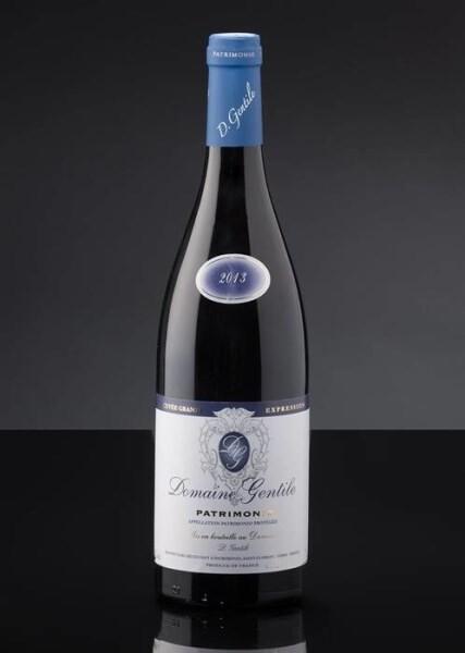 LOGO_Rouge Grande expression AOP Patrimonio lagerfähiger rotwein
