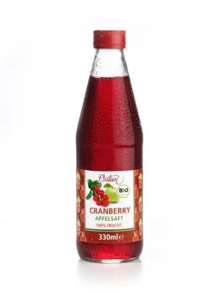 LOGO_Cranberry-Apfelsaft, erfrischend und gesund zugleich.