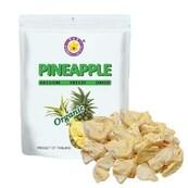 LOGO_Bio Ananas - Stücke gefriergetrocknet ( FD Pineapple Organic ) piece