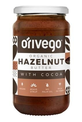 LOGO_Organic Hazelnut Butter with Cocoa 340 g