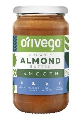 LOGO_Organic Smooth Almond Butter 340 g