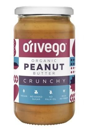 LOGO_Organic Crunchy Peanut Butter 340 g