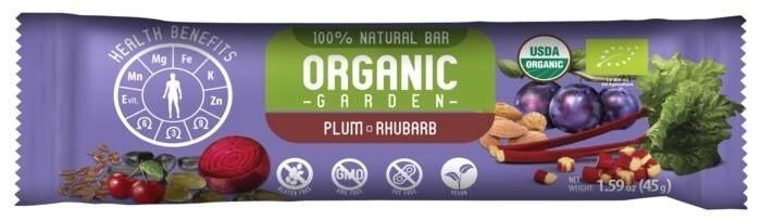 "LOGO_""Organic Garden"" bars"